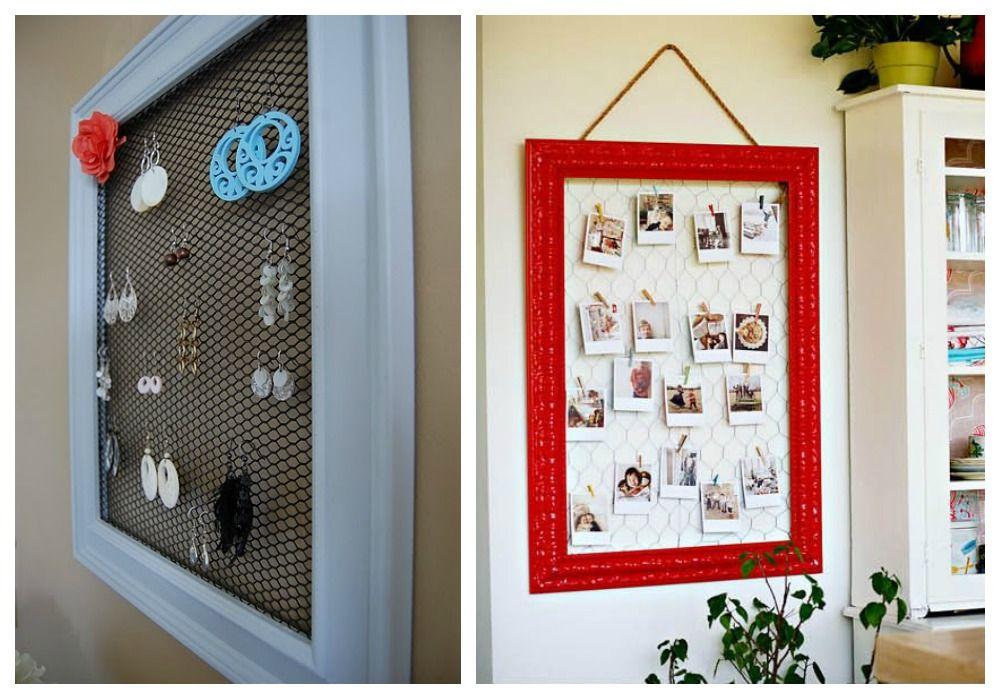 Reciclaje de marcos decoraci n reciclada reciclaje for Ideas decoracion reciclaje