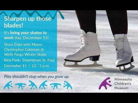 Winter Skate Date with MCM and Mayor Coleman Dec. 15, Noon