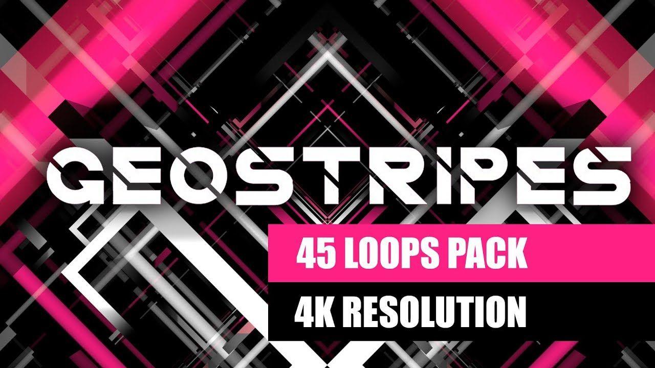 Geostripes VJ Loops Video Pack Looping, Geometric
