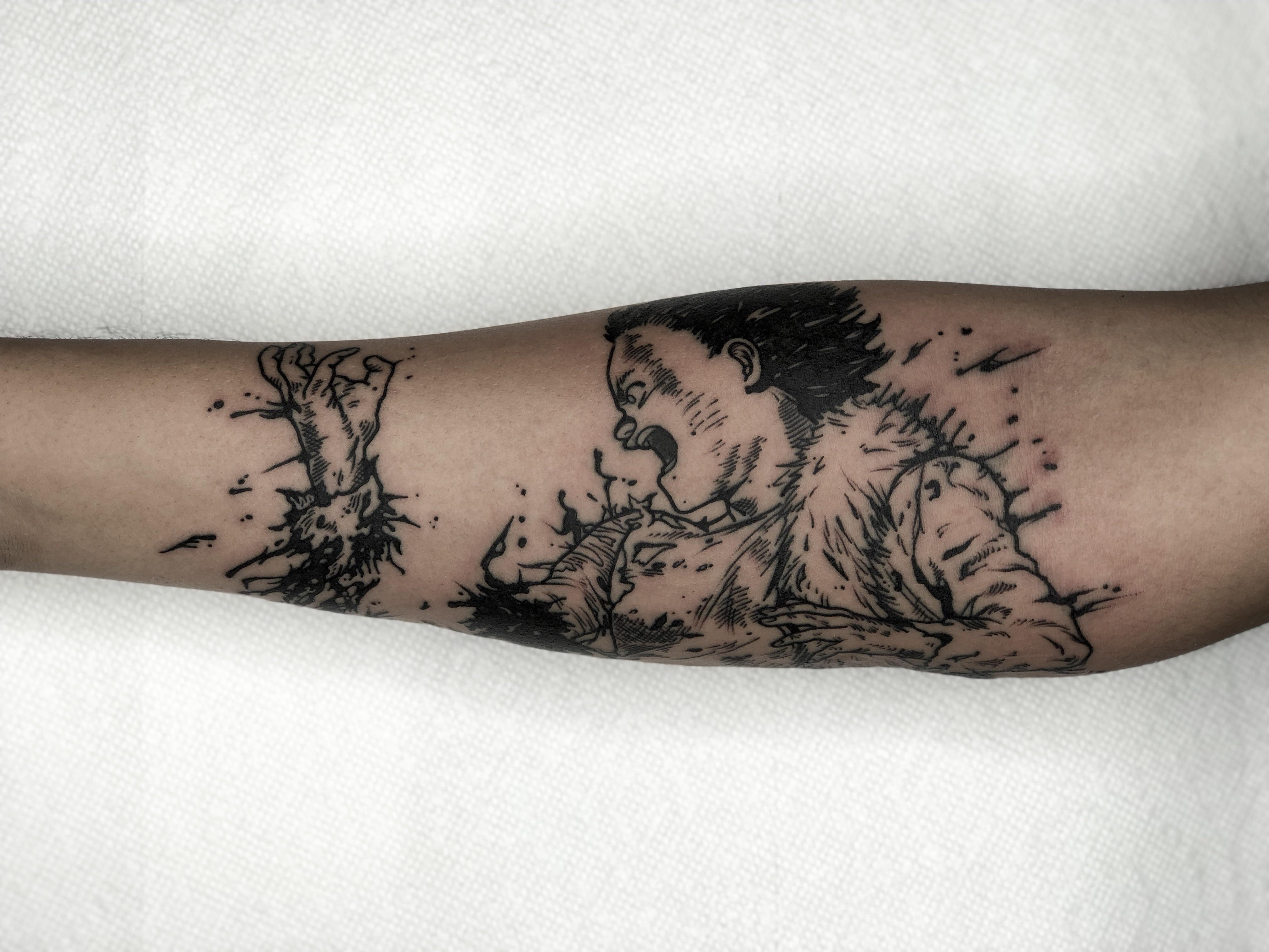 Akira Tetsuo Tattoo By Jose Arvizu At Ace Of Hearts Tattoo In Long Beach Ca Tattoos Akira Tetsuo Body Art Tattoos