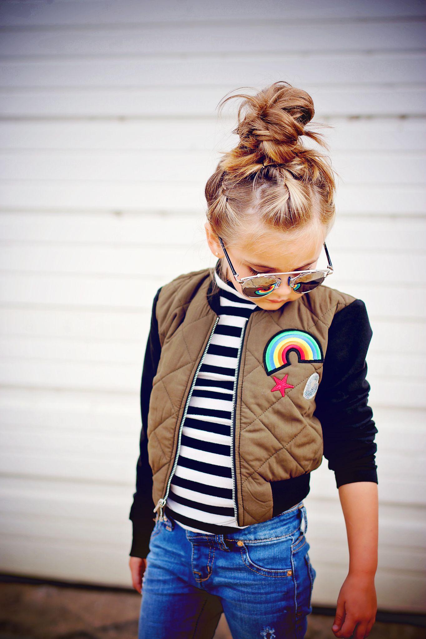 Kids Clothing Bomber Jacket Fall Style Chasinivy Girl