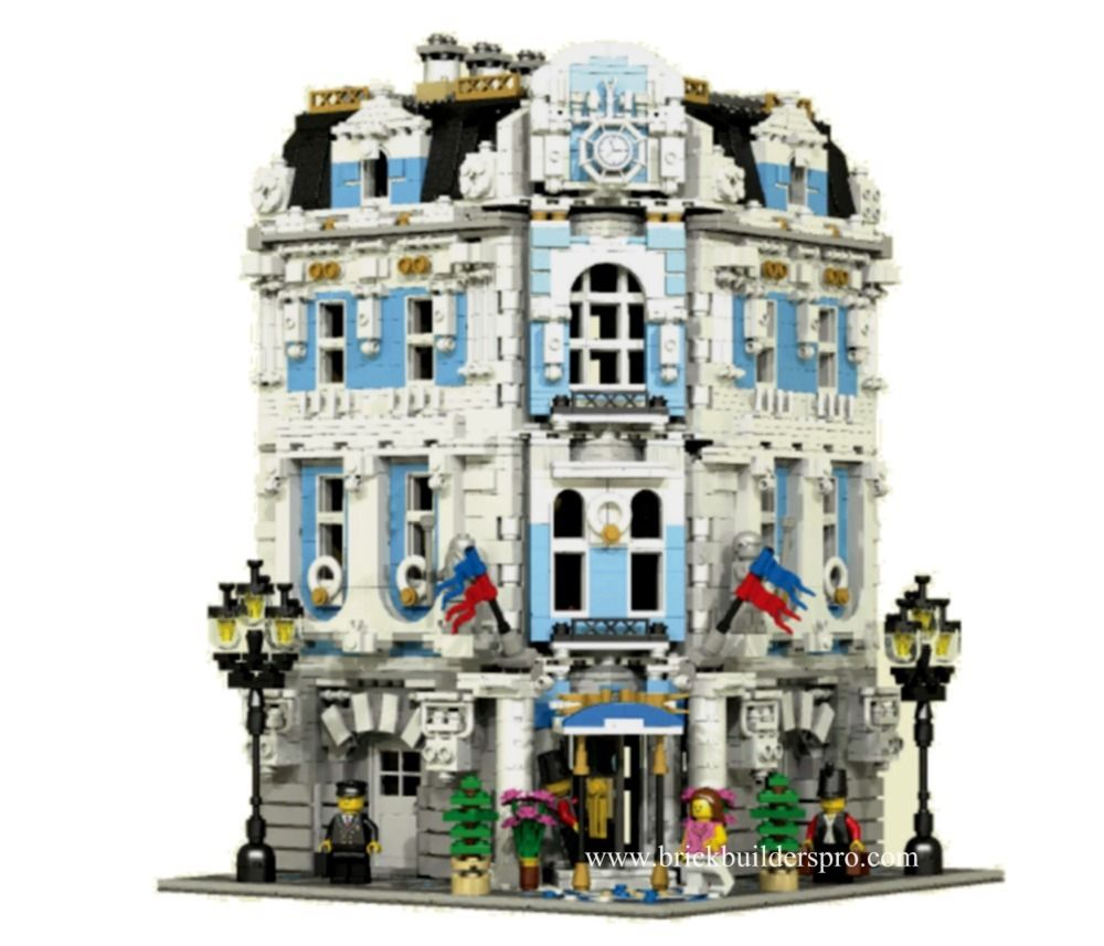 International Hotel Pdf Instructions Custom Lego And Pdf