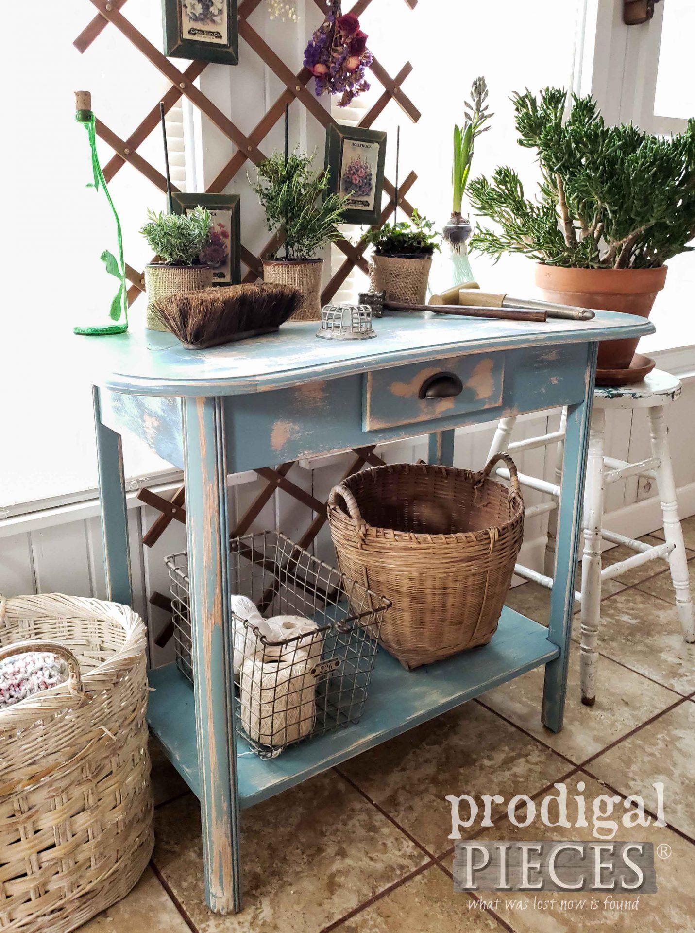 18+ Blue farmhouse console table ideas in 2021