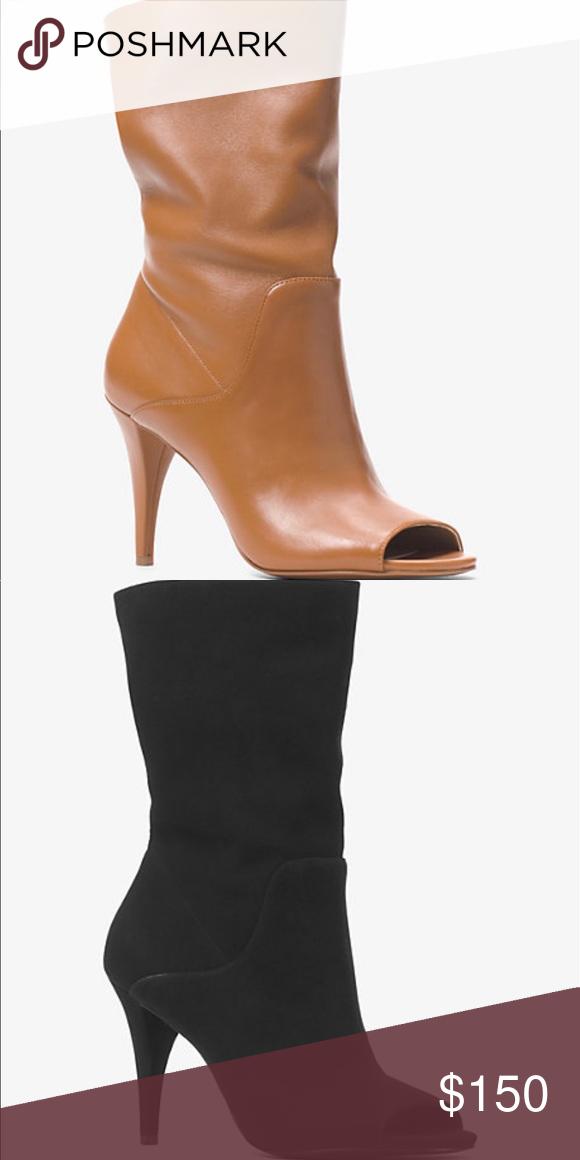dfeab853d Spotted while shopping on Poshmark: Michael Michael Kors Elaine Open Toe  Boot! #poshmark #fashion #shopping #style #MICHAEL Michael Kors #Shoes