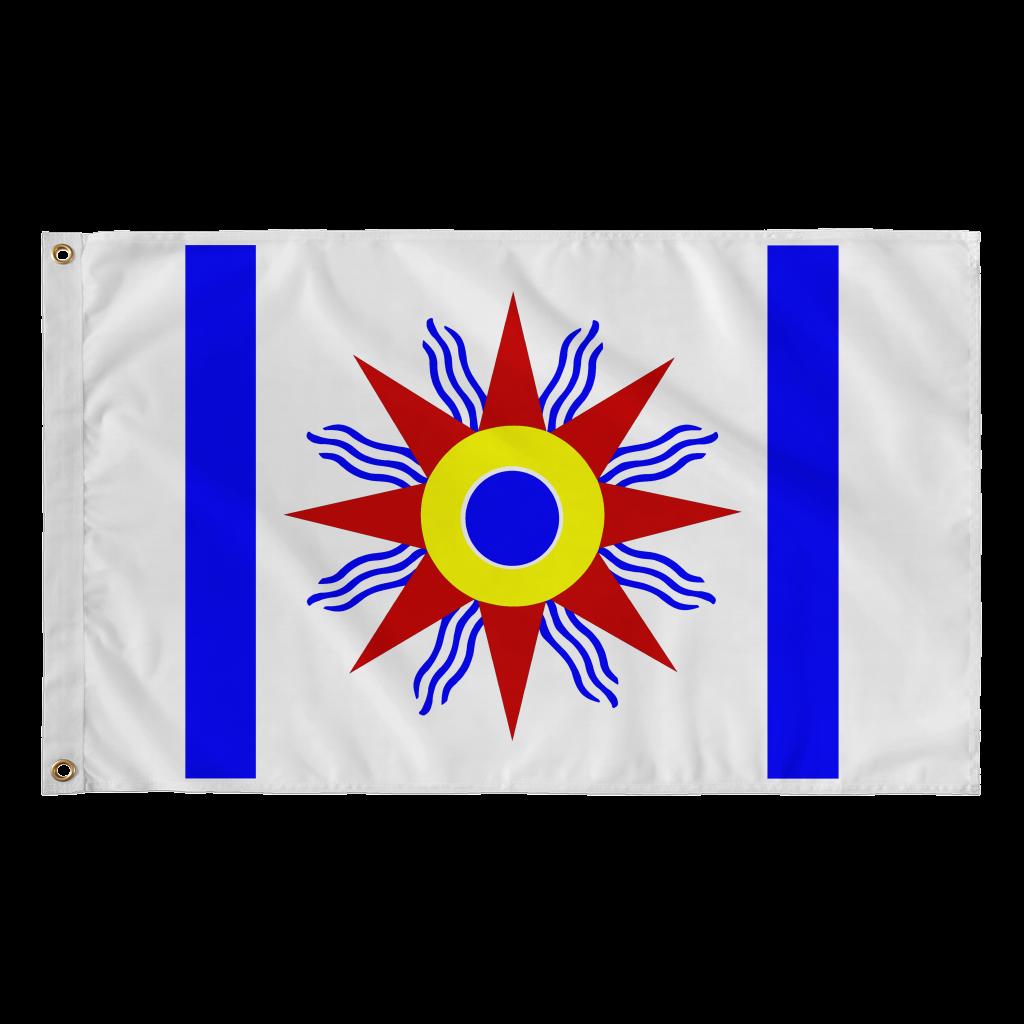 Chaldean Flag Flag Ancient Mesopotamia Tapestry
