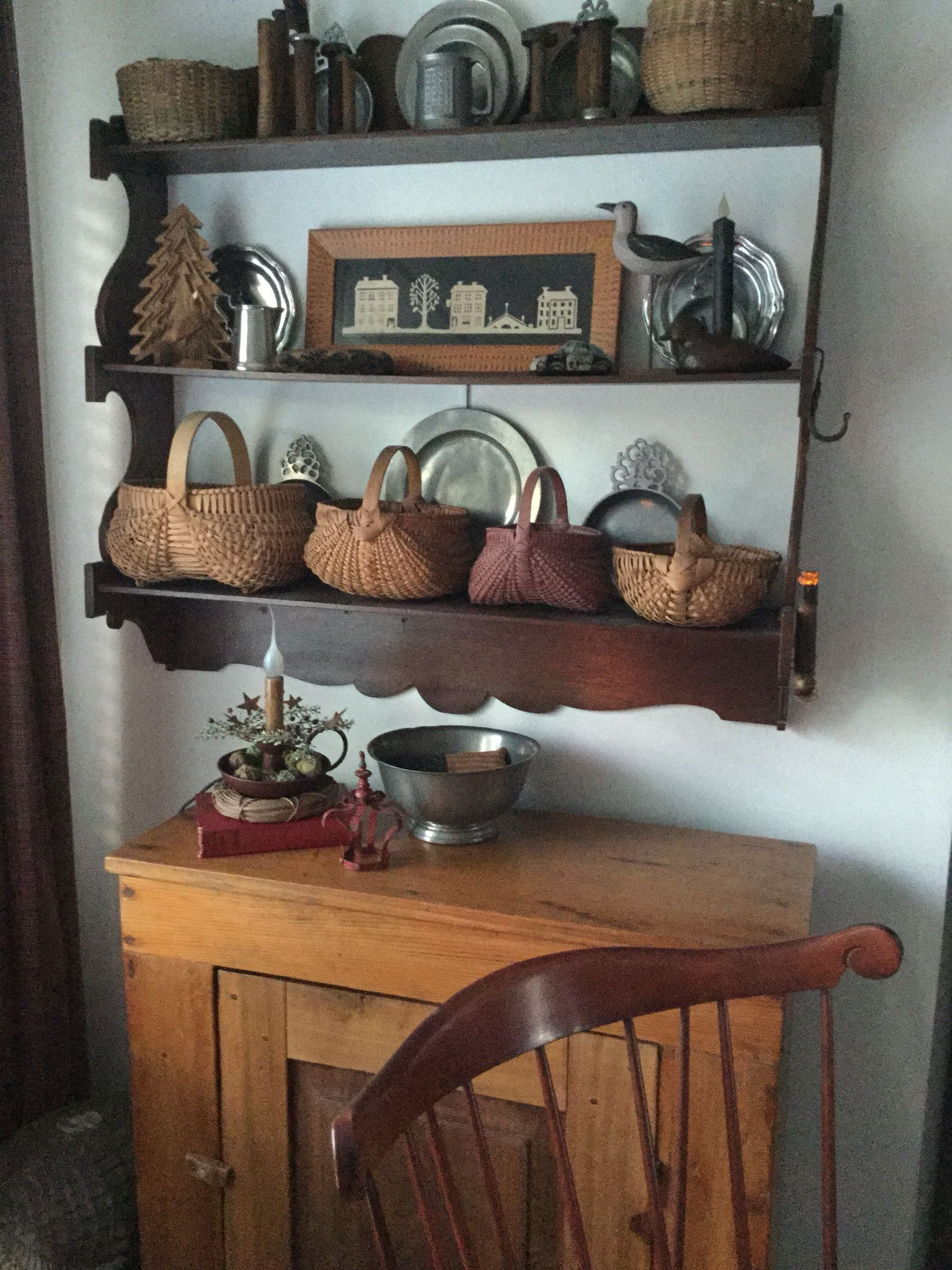 Country Primitive Sofa Tables Clic Clac Bed Offers Baskets Decorating Pinterest Primitives