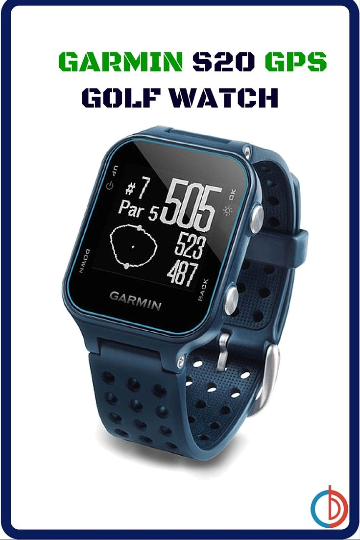 Approach S20 GPS golf watch is the ideal golfing partner