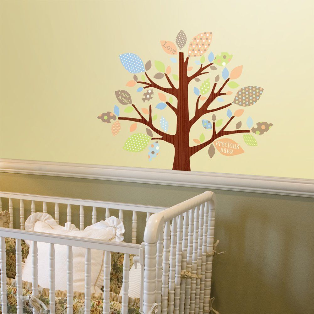 Tree of Love Nursery Wall Decals | Wall decals, Nursery and Walls