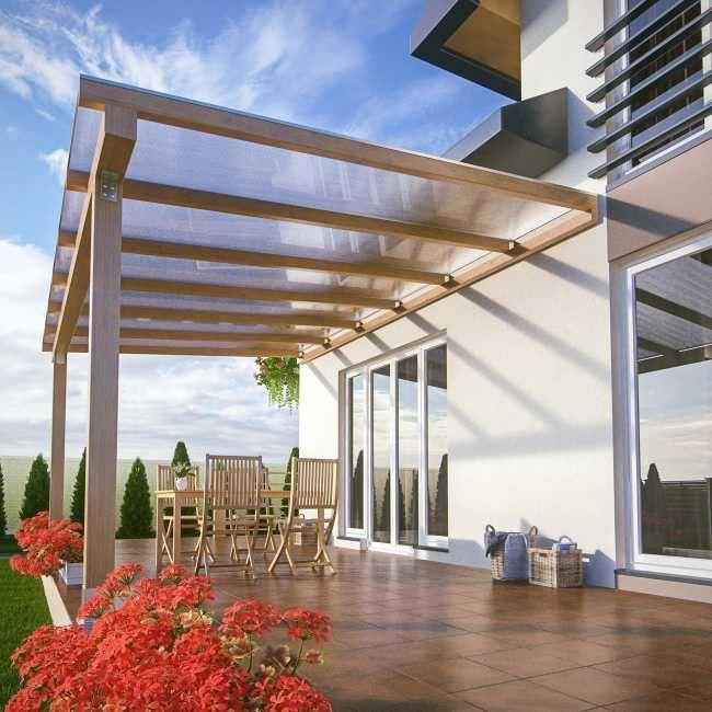 Plyta Poliweglan Jednokomorowy Palram Bezbarwna 0 98 X 2 M 4 Mm 1 96 M2 Plyty Pergola Outdoor Decor Outdoor Projects