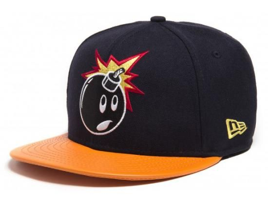 Adam Leather Visor 59Fifty Fitted Baseball Cap by THE HUNDREDS x NEW ERA