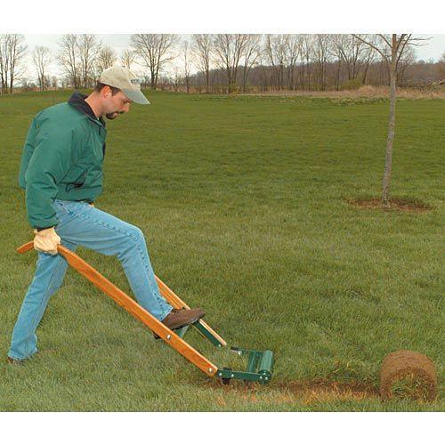 Kick Type Sod Cutter 12 Inch Blade Sod Cutter Sod Grass Cutter