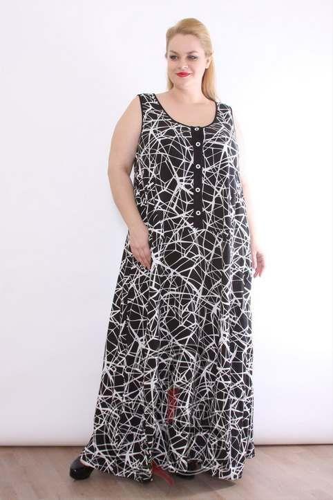 399d9c6968a Летние платья и сарафаны в стиле бохо для полных женщин итальяского бренда  Boho Style 2016