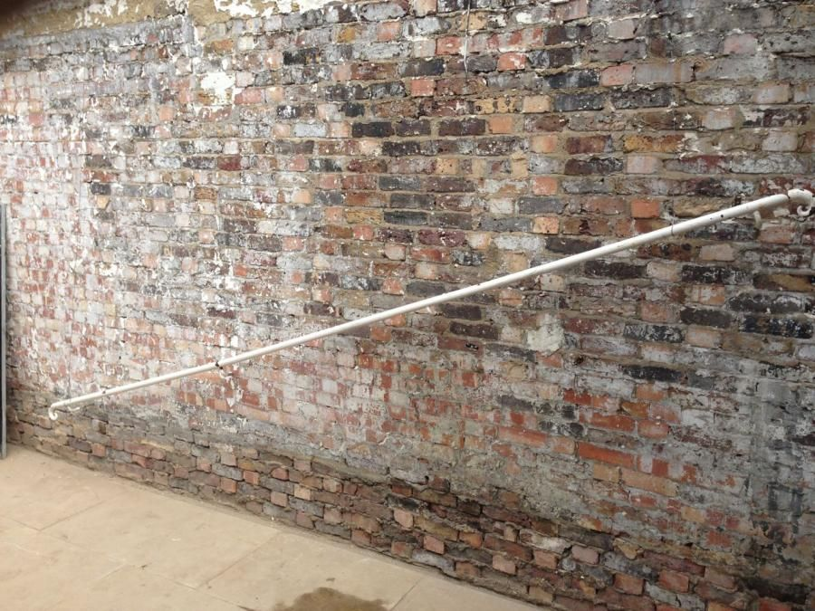 Best A Pair Of Antique Iron Stair Handrails With Each End 400 x 300