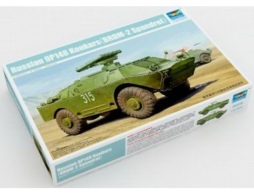 The Trumpeter 135 Russian BRDM 2 Spandrel with 9P148