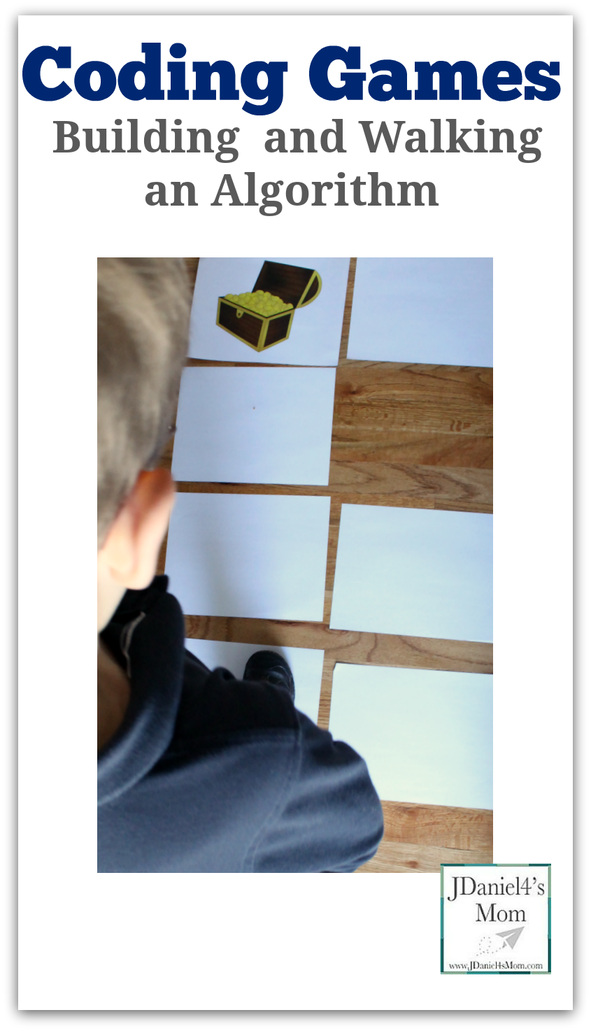 Coding Games Building and Walking an Algorithm   JDaniel4's Mom ...