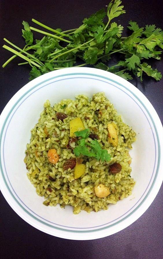Chatney Rice - Cilantro Rice