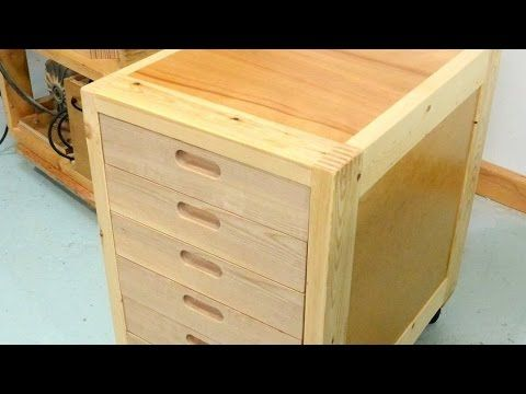 Making Drawers With Recessed Handles Youtube Diy Projects Plans Diy Wardrobe Wood Magazine