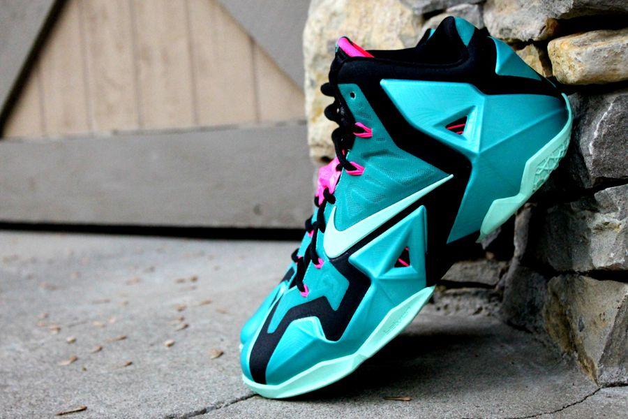 """sale retailer 13a13 bf9f0 Nike Lebron 11 """"South Beach"""" httpwww.equniu.com"""