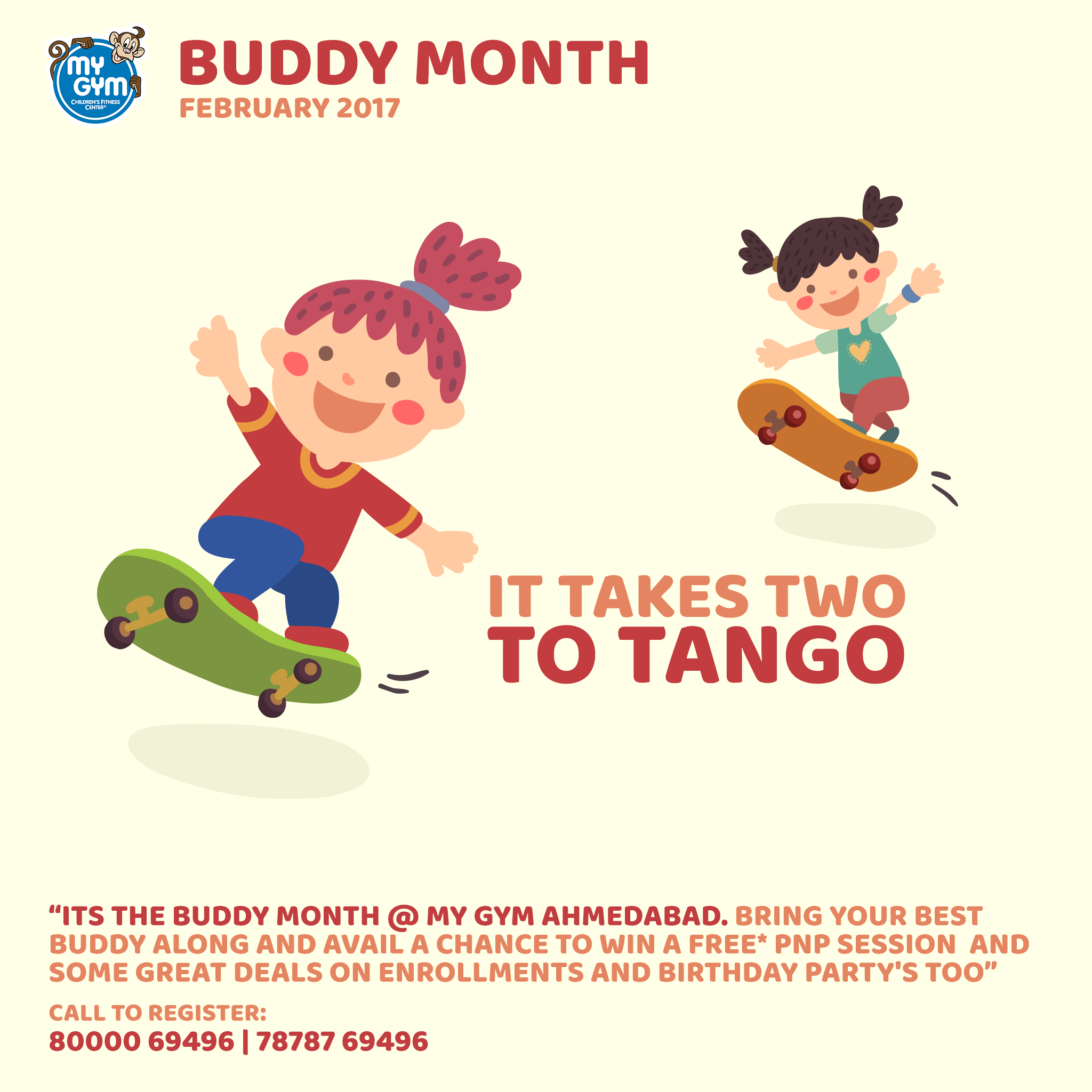 Last Few Days Left In Buddy Month To Get Great Deals On Enrollment And Birthday Parties MyGym MyGymFun BuddyMonth February Mymo Parents Celebrations