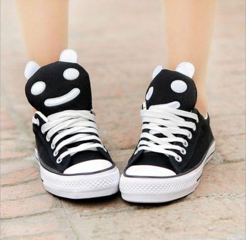 Beautiful Cute panda-Sneakers  Sneakers (black,blue,white) Sneakers from stylishplus.com
