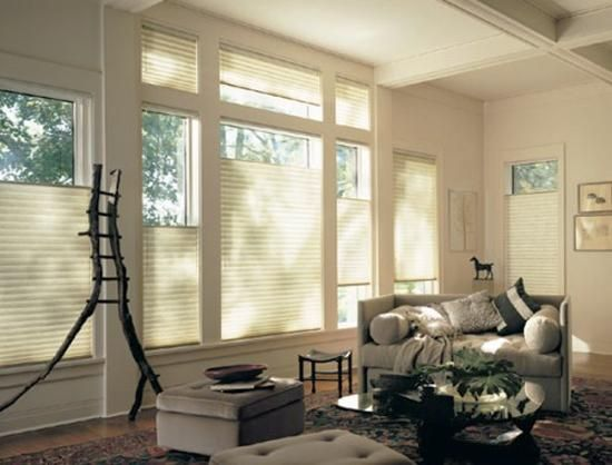 Silhouette Blinds vs. Honeycomb Shades, Modern Window Coverings ...