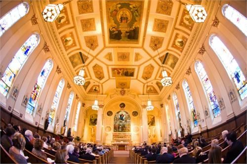Davidson Marshall S Wedding Ceremony Assumption Catholic Church