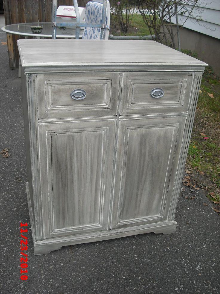 Gray Washed Furniture On Grey, Grey Wash Furniture
