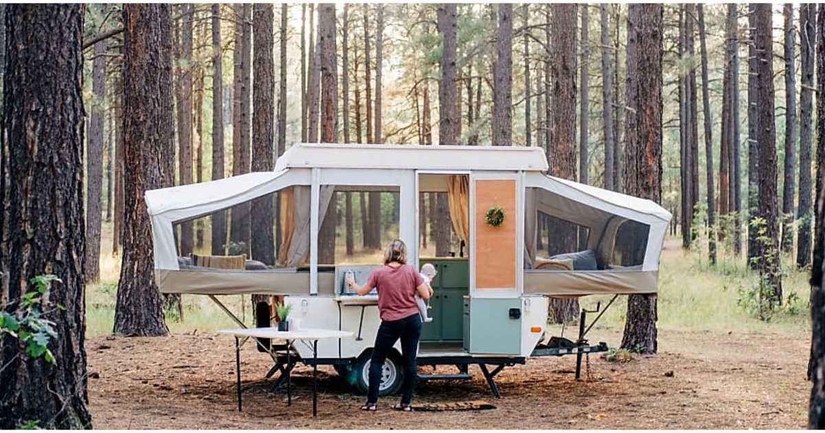 """This """"Pop Up"""" Trailer Lets You Glamp Anywhere In Arizona"""