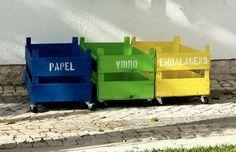 Dicas de organização – Faça você mesmo – Reciclagem
