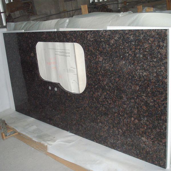 Newstar Supply Ngj016 Tan Brown Granite Countertop China Factory Factory Wholesale Cheap Precut Kit Granite Countertops Kitchen Countertops Granite Countertops