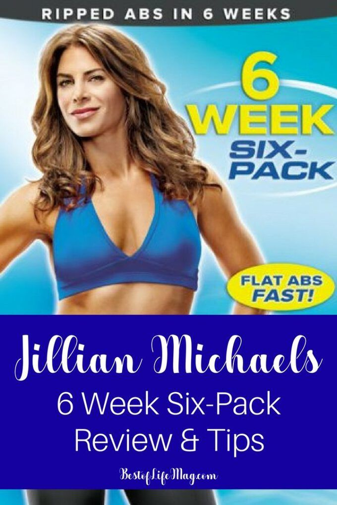The Jillian Michaels 6 Week Six Pack system is tough, like all of her programs, but the results are...
