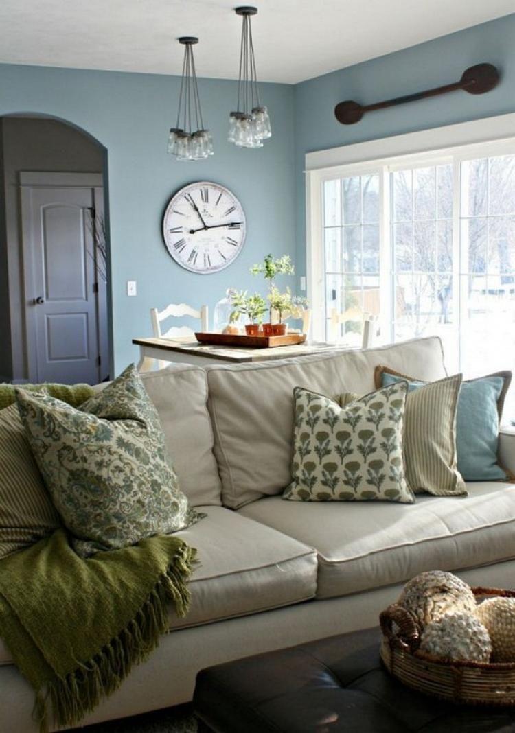65 Comfy Modern Farmhouse Living Room Decor Ideas And ...