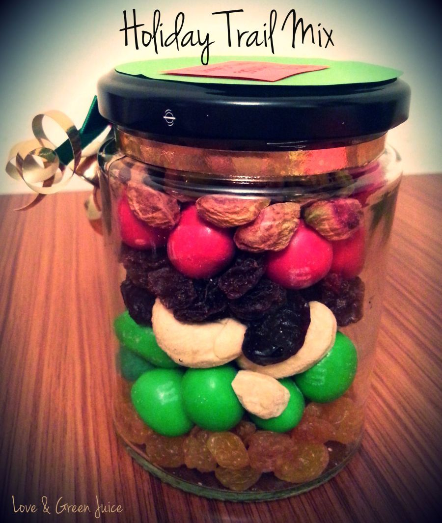 Easy DIY gift. Who doesn't love trail mix?