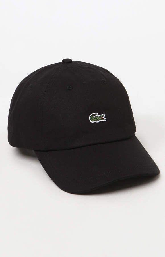 Lacoste Small Croc Strapback Dad Hat in 2019  d8181e2344f