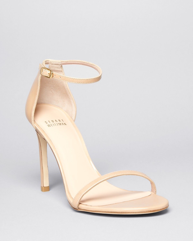 62b514b6a @stuartweitzman Platform Sandals - Nudistsong High Heel | Bloomingdale's