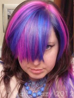 Colours Used Color Jamz Bubble Head Pink Huckleberry Blue And Purple Pion Love