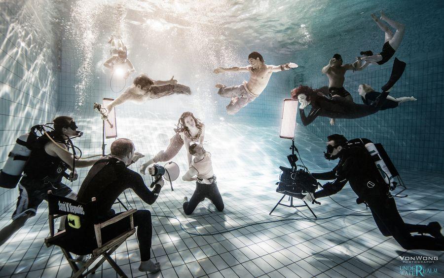The Underwater Realm  by   Benjamin Von Wong