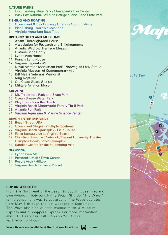 2013 Virginia Beach Vacation Guide