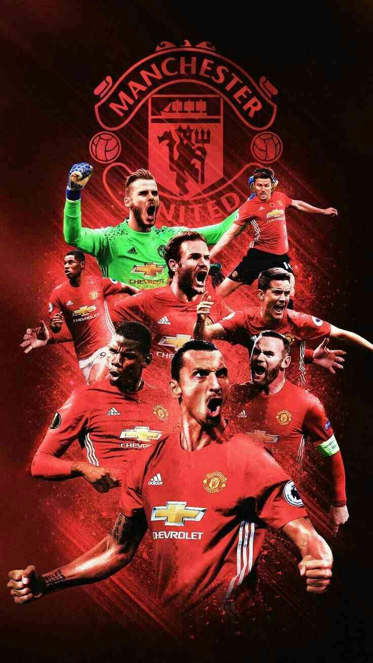 Man Utd Wallpaper Manchester United Wallpaper Manchester United Team Manchester United