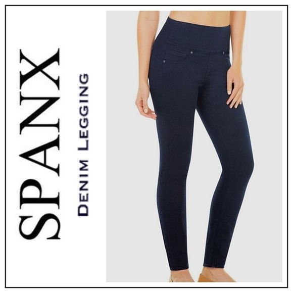 dbdd173634d19 Spanx Denim Legging Shaping Jegging Shapewear From the girls who know  women s bodies better than anyone