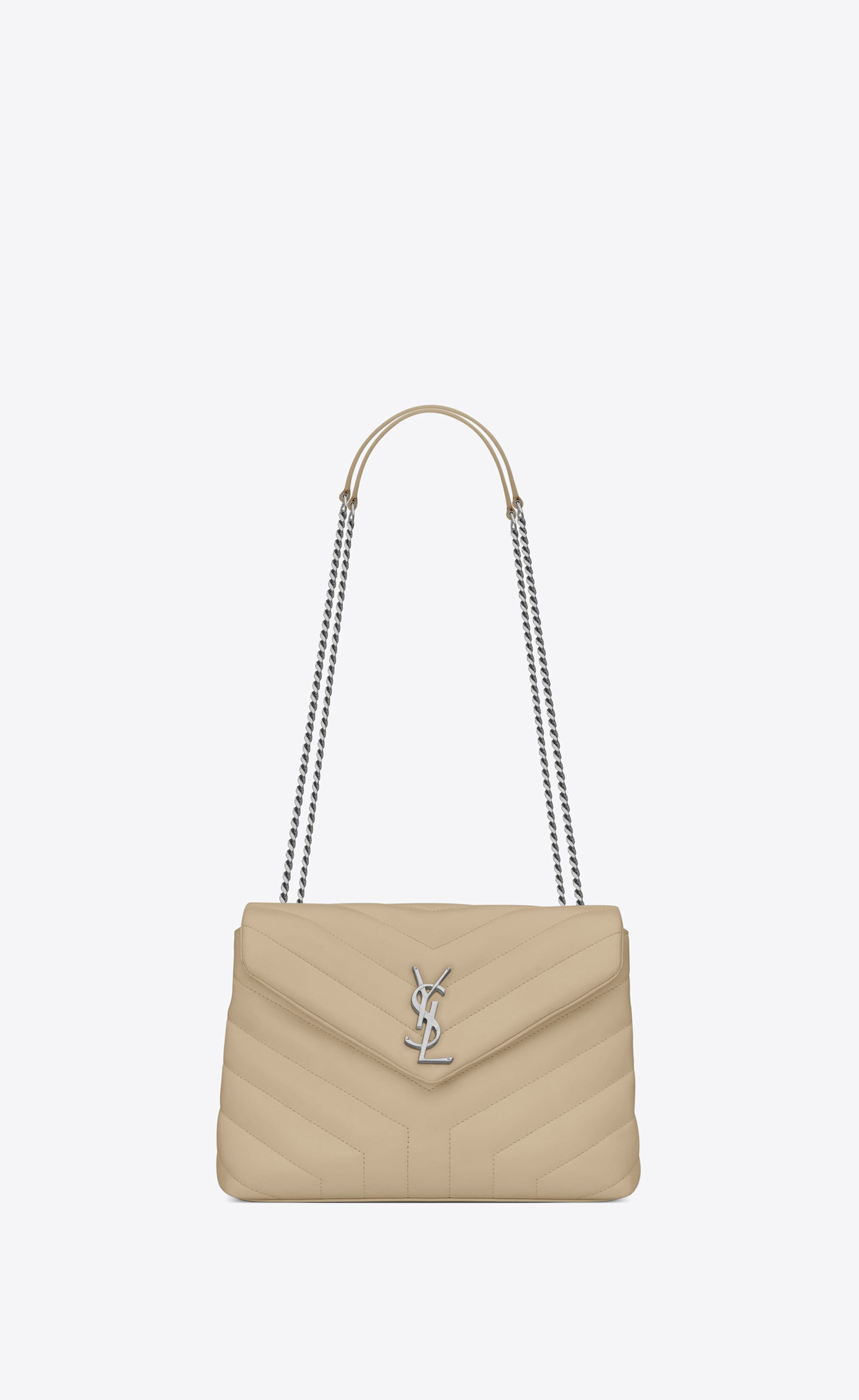 """05b246f88b loulou small in matelassé """"Y"""" leather in 2019 