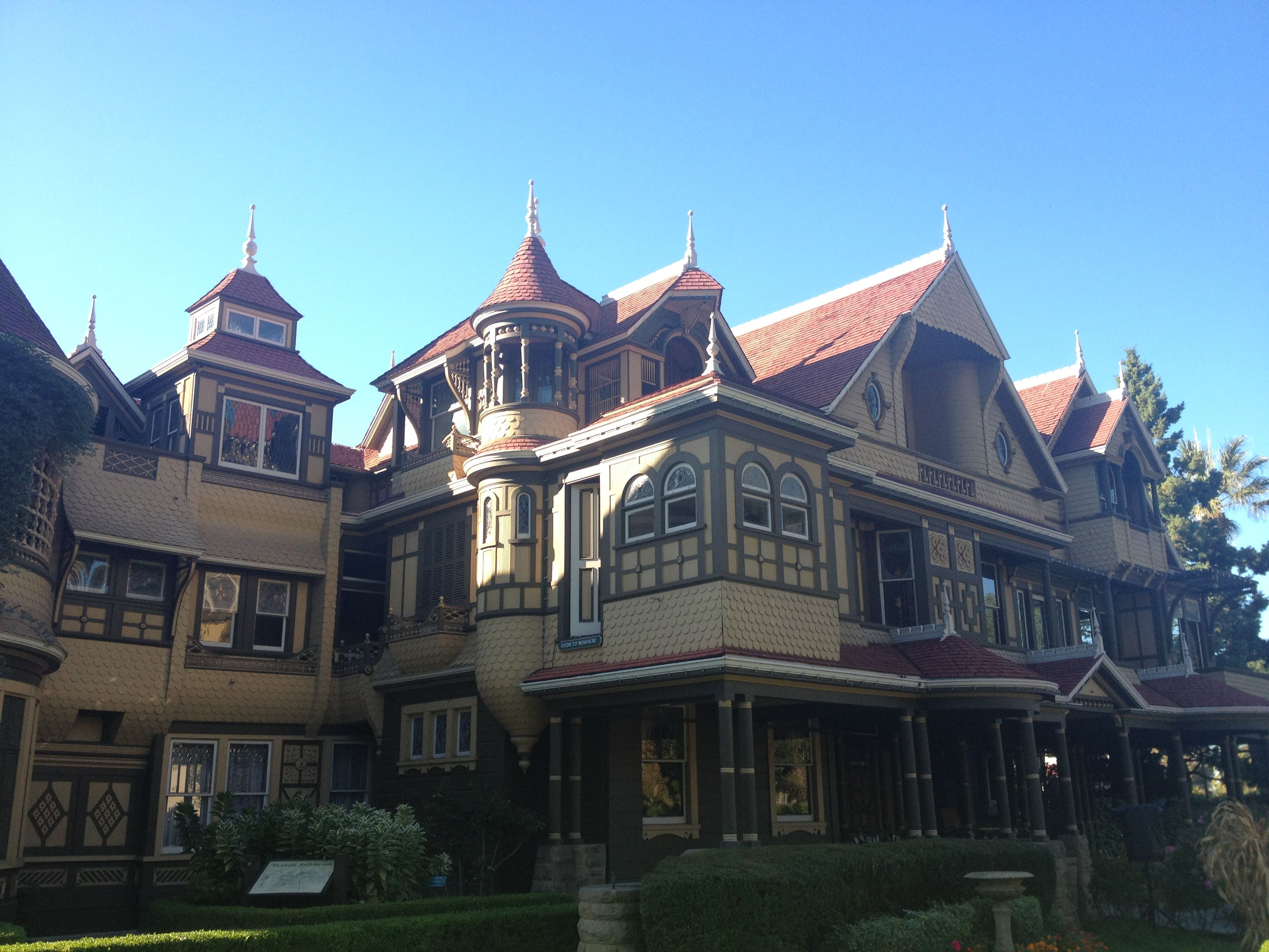 the winchester mystery house | halloween ☠☣☢☠ | pinterest