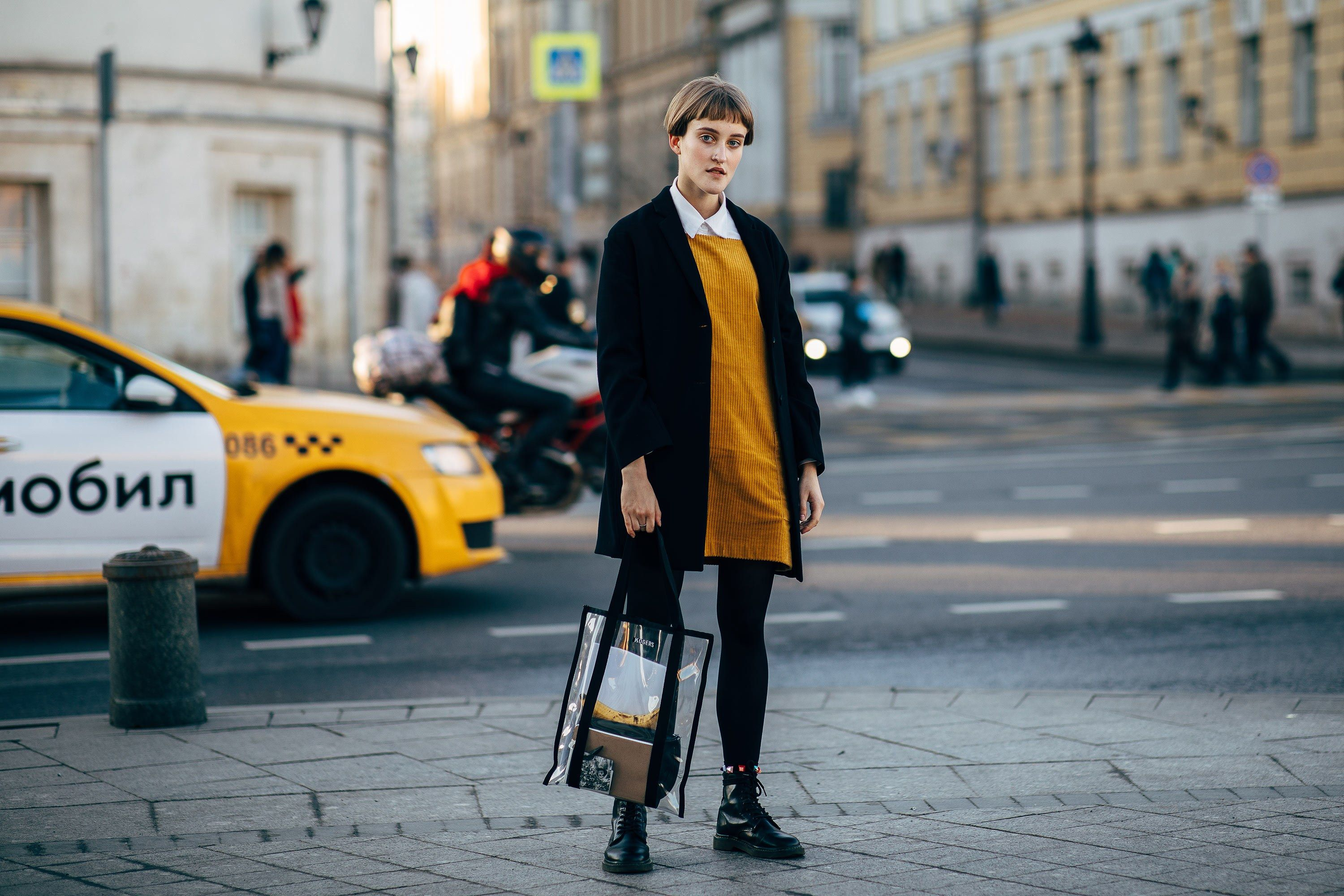 Winterjas Moscow 2019.The Best Street Style From Russia Fashion Week S Spring 2019 Shows
