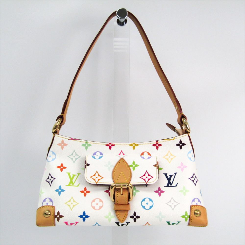 cd2e190d6f47  louisvuitton Monogram Multicolore Eliza M40098 Women s Shoulder Bag Blanc