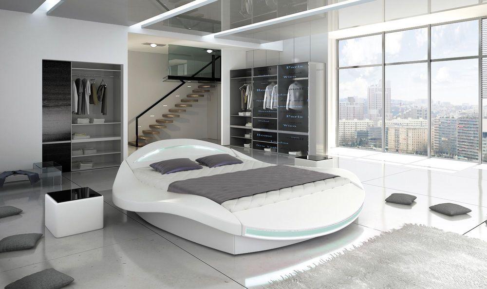 FERO Doppelbett Schlafzimmerbett Lattenrost Bettkasten Polster Bett
