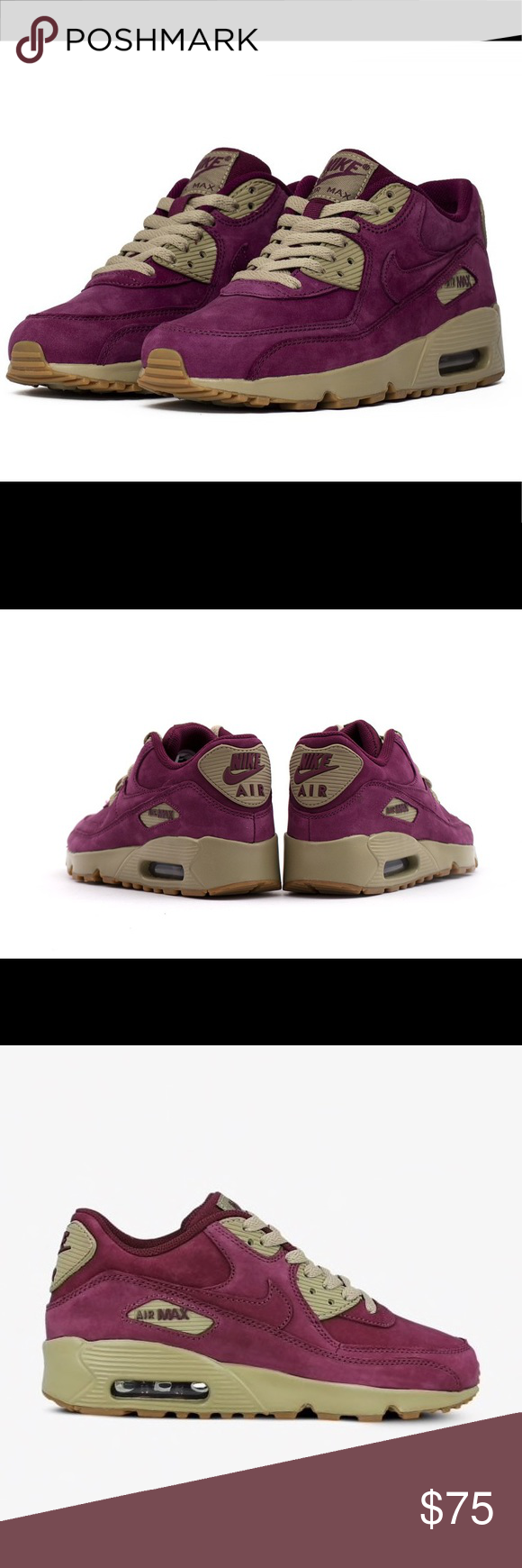 new Air Suede PRM Bordeaux Bamboo Max 90 Brand Winter Nike