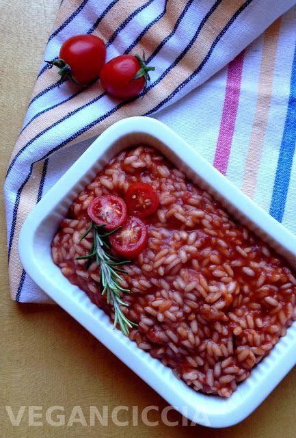 Veganciccia: Risotto Al Pomodoro e Vino Rosso