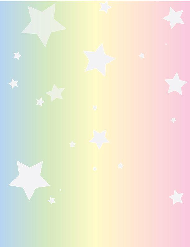 Free Pastel Rainbow And Stars Stock By B4itwasmainstream On Deviantart Pastel Rainbow Background Pastel Rainbow Paper Background