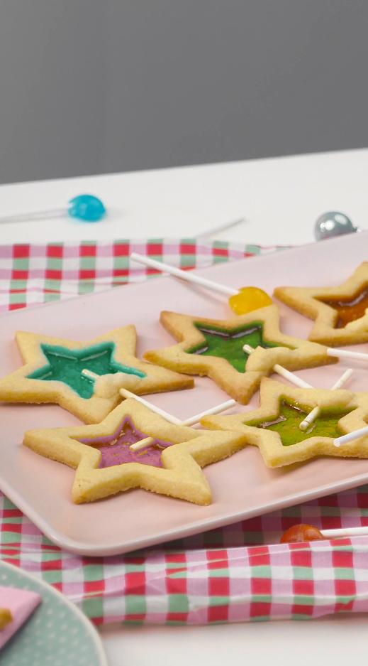 Rezeptvideo: Kekse am Stiel #fingerfoodweihnachten