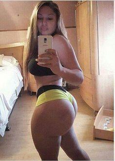 White big ass